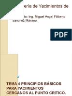 Tema 4 Pirncipios Básicos Para Yacimientos Cercanos Al Punto Critico