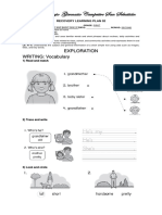 Recovery Learning Plan 2 First Grade