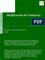 Modificación de Conductas