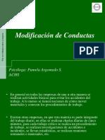 Modificación de Conductas