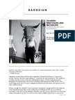Gagosian Picasso - Minotaurs and Matadors Curated by Sir John Richardson Press Release