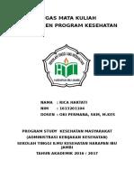 Tugas Manajemen Kesehatan kk rica.docx