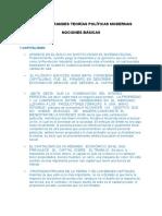 Desarrollo Tema 5 - GRANDES TEORÍAS POLÍTICAS MODERNAS NOCIONES BÁSICAS