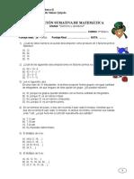Prueba Sumativa Matematica 6BASICO Semana 5 2015