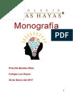 MONOGRAFÍA PRISCILLA