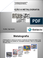 Curso de Metalografia