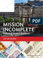 Adbi Mission Incomplete Reflating Japan Economy