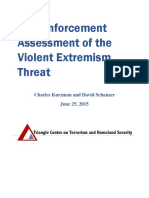 Kurzman Schanzer Law Enforcement Assessment of the Violent Extremist Threat Final