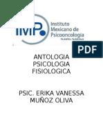 Antologia Psicologia Fisiologica