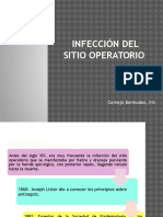 Infección Del Sitio Operatorio. Iris