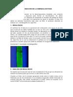 Dimerizacion de La Dibenzalacetona