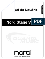 Nord Stage Portuguese User Manual v2.0x