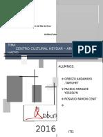 Centro Cultural Eydar Zaha Hadid...