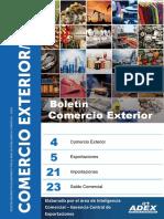 Boletin de Comercio Exterior Abril 2017(Data a Febrero 2017)