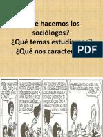 Qué Es y Qué Estudia La Sociología