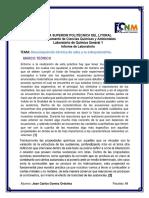 informe 7 estequiometria