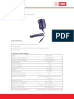 Especificaciones Fuente de Poder - PLDC1000