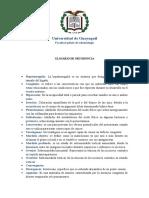 Glosario de Ortodoncia