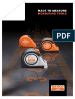 Bahco Measuring Tapes-English