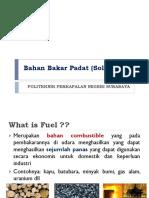 Bahan Bakar Padat (Solid Fuel)