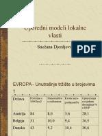 Uporedni Modeli Lokalne Vlasti