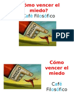 Café Filosófico - Cómo Vencer El Miedo - Roxana Kreimer