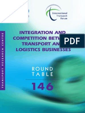 OECD - Integration and Competition Between Transport and