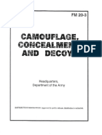 US Army Manual - FM 20-3 Camouflage, Concealment, And Decoys