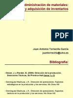 Administración de Materiales. Compra y Adquisición de Inventarios
