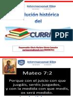 PPT Evolución Histórica Del Currículo.