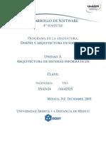 Unidad 3 Arquitectura de Sistemas Informaticos