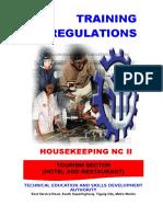 TR Housekeeping NC II