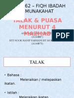 TALAK_&_PUASA_MENURUT_4_MAZHAB