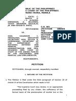 SC Petition_martial Law_duterte
