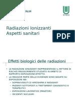 Radiazioni Ionizzanti Aspetti Sanitari Bozza Mod St Bb