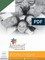 White Paper Adomet 2016