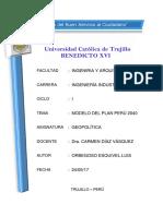 Modelo Del Plan Perú 2040