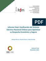 Estudio de Zonificacion Del Sistema Electrico Nacional