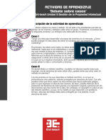 Actividad de Aprendizaje Unidad 5 - 2 ESTUDIOS DE CASOS