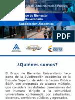 Grupo de Bienestar Universitario