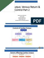CVP Week 2_Cardiac Output & Venous Return & Control Part 2_Holguin