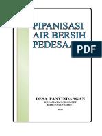 Proposal Pipanisasi Air Bersih