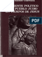 Ambiente Politico Del Pueblo Judio en Tiempos de Jesus de Guevara Hernando