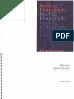 David Jacobson Reading Ethnography