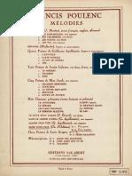 Francis Poulenc (1899-1963) - Priez Pour Paix