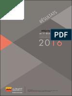 résultats d'ATTIJARI 2016