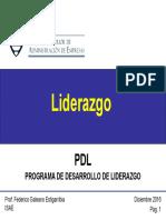 PDL - Liderazgo