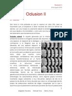 2- Oclusión II