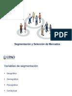 Segmentacion y Seleccion de Mercados