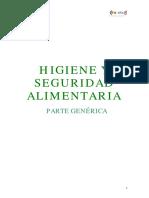 Manual de Manipulador Alimentos-sector Hosteleria y Restauracion